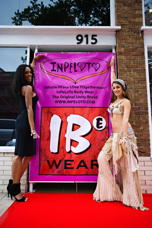 Melissa Michaels and Leilainia celebrate Inpeloto launch