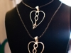 INPELOTO Bella signature silver handcrafted necklace
