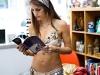 Leilaina reads Melissa Michaels\' book,