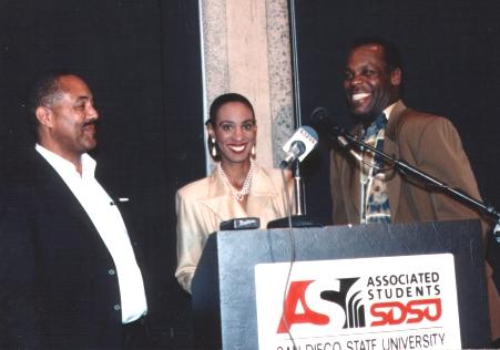 Danny Glover, Felix Justice, Melissa Michaels