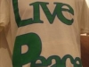 Inpeloto\'s unisex Live Peace Peace Lives tshirt