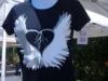 Inpeloto\'s Heart Angels women\'s tshirt