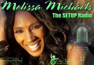 Melissa Michaels SRN radio interview