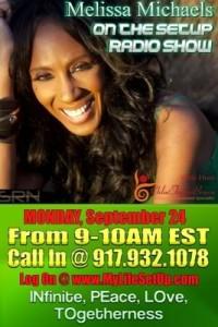 Melissa Michaels SRN radio interview September 24, 2012