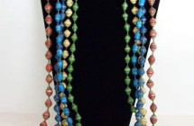 Inpeloto Big Paperbead Necklace